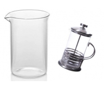 French Press 600 Ml Yedek Cam