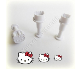 Basmalı Hello Kitty Kopat Mini 3'lü Set