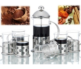 French Press Set 600 Ml